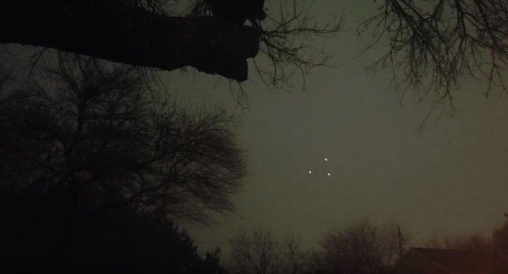 New Year 2020 UFO sighting
