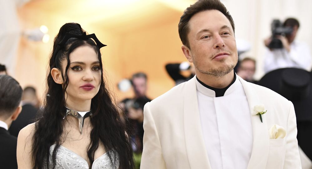 Grimes, left, and Elon Musk attend The Metropolitan Museum of Art's Costume Institute benefit gala
