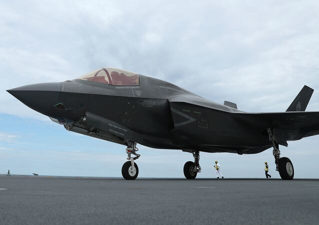 A new F-35B Lightning fighter jet