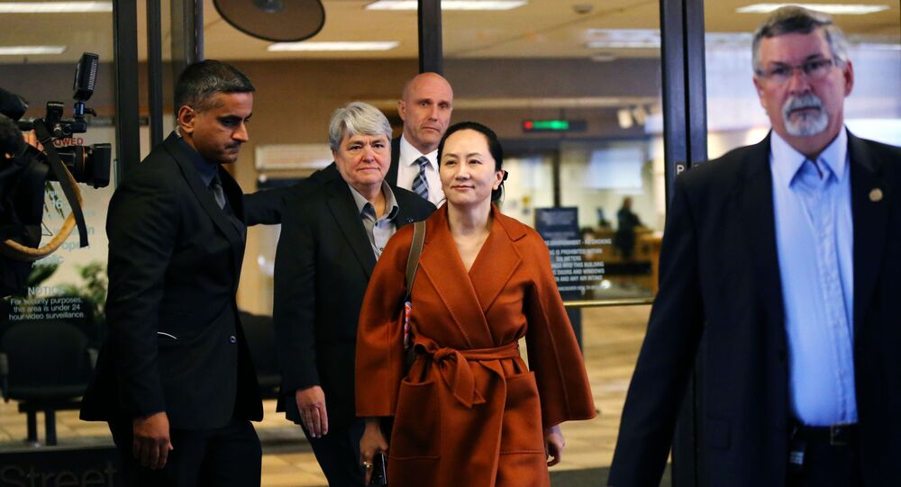 Huawei Technologies Co. Chief Financial Officer, Meng Wanzhou, leaves the British Columbia Superior Court on September 23, 2019 in Vancouver, Canada.