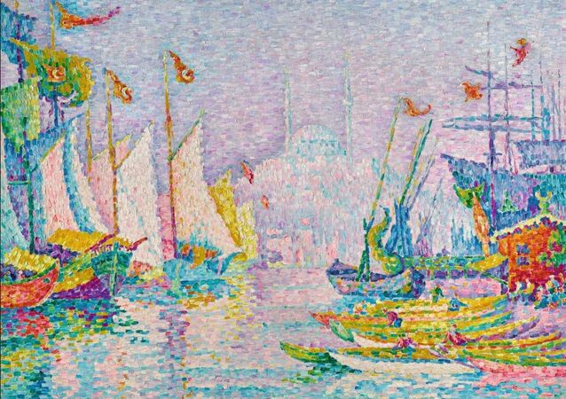 Paul Signac's La Corne d'Or.