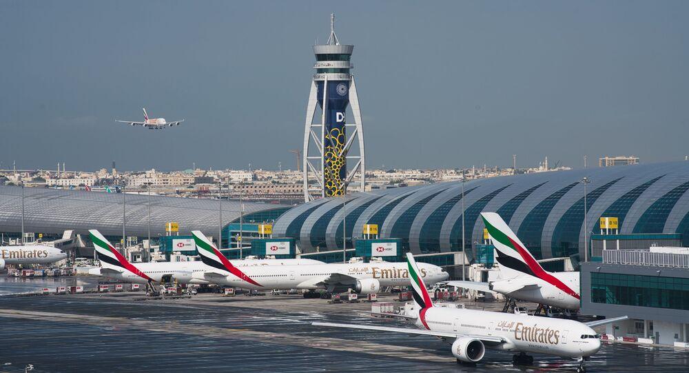 Dubai International Airport in Dubai