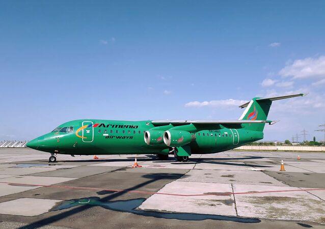 Armenia Airways plane