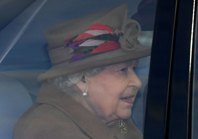 Britain's Queen Elizabeth arrives at St Mary Magdalene's church on the Sandringham estate in eastern England, Britain January 12, 2020