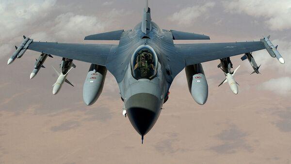 U.S. Air Force F-16 Fighting Falcon - Sputnik International