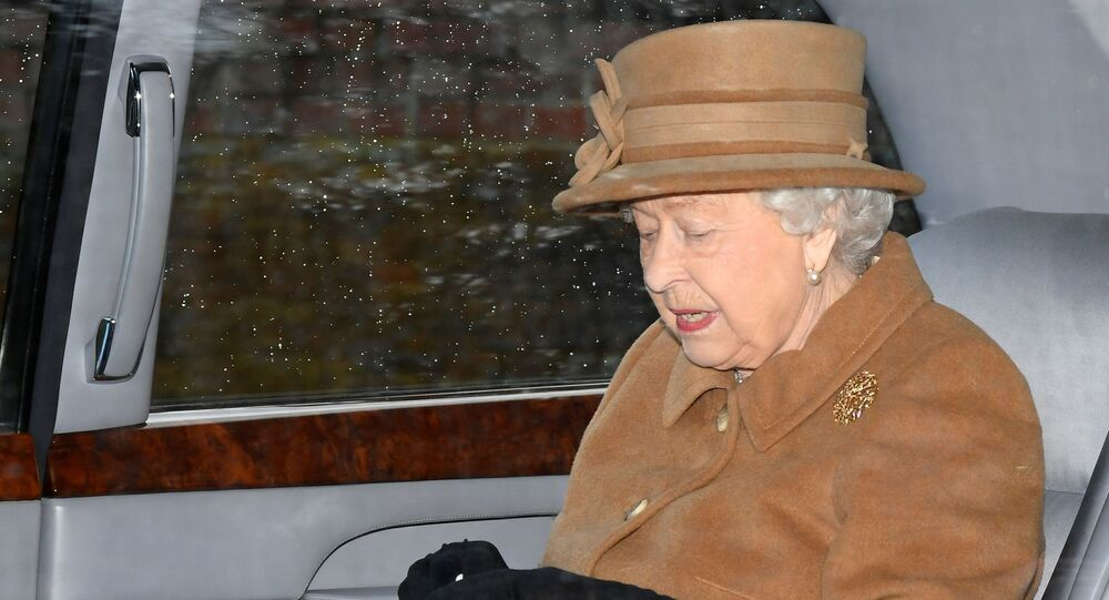 Britain's Queen Elizabeth departs from St Mary Magdalene's church on the Sandringham estate in eastern England, Britain January 12, 2020. REUTERS/Toby Melville