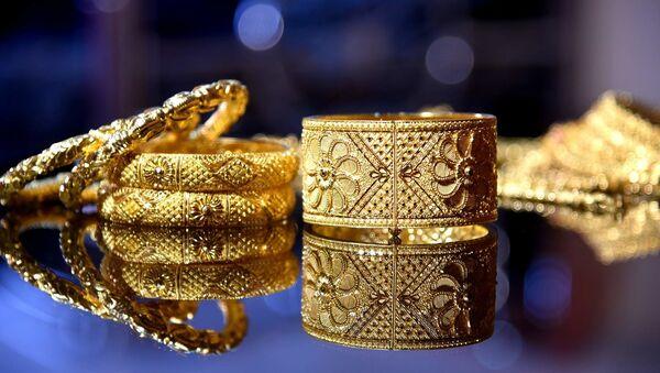 Indian gold jewellery  - Sputnik International
