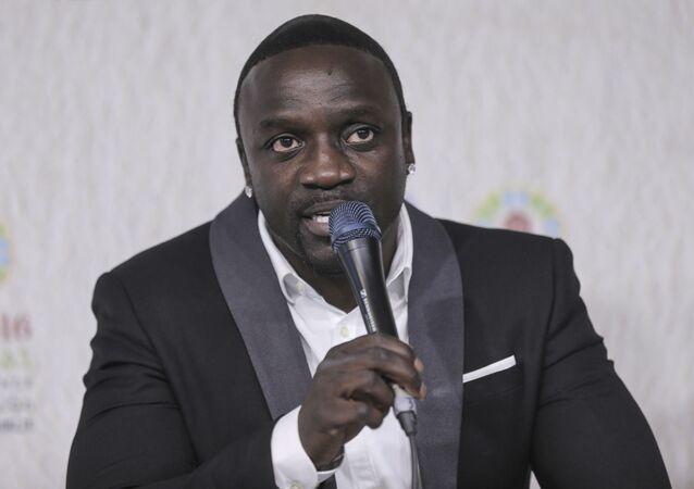 Akon, international music star and Co-Founder of Akon Lighting Africa