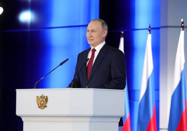 Russia Putin Federal Assembly Address