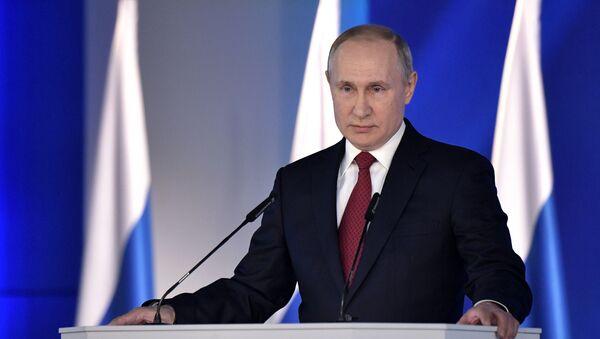Russia Putin Federal Assembly Address - Sputnik International