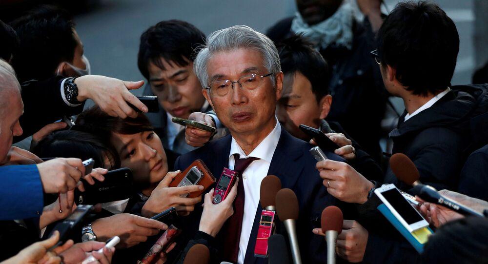 Junichiro Hironaka, chief lawyer of the former Nissan Motor Co. Ltd chairman Carlos Ghosn