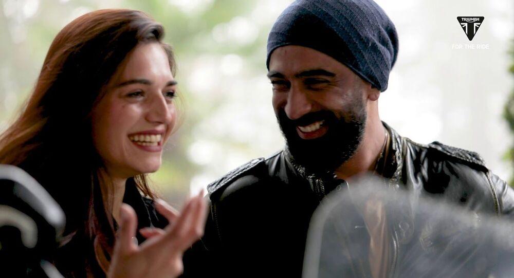 Amit Sadh and Annabel Dasilva