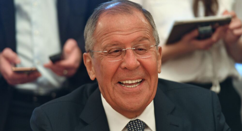 Russian Foreign Minister Sergei Lavrov meets with Ricardo Cabrisas, Deputy Chairman of the Council of Ministers of the Republic of Cuba.