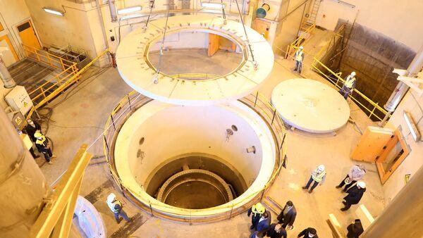 FILE PHOTO: A view of the water nuclear reactor at Arak, Iran December 23, 2019 - Sputnik International