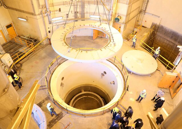 FILE PHOTO: A view of the water nuclear reactor at Arak, Iran December 23, 2019