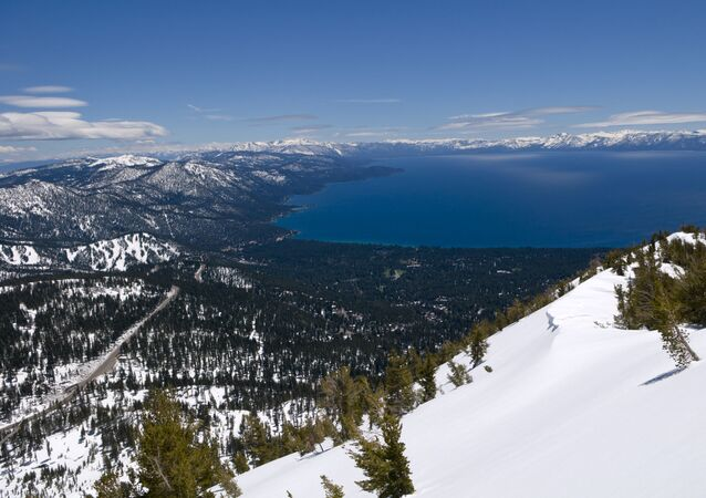 This photo shows a view of Lake Tahoe near Reno, Nev., after several recent storms added to the snow pack, Thursday, May 26, 2011. Squaw Valley ski resort, in Olympic Valley, Calif., will now be open for skiing Memorial Day weekend due to the snow. (AP Photo/Scott Sady)