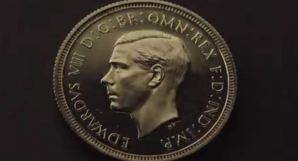 Rare Coin Featuring UK King Edward VIII