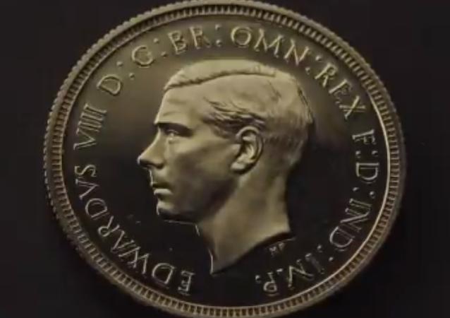 Rare Coin Featuring UK King Edward VIII