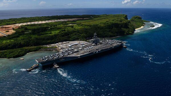 The aircraft carrier USS Theodore Roosevelt - Sputnik International