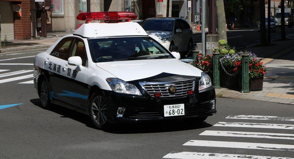 Police car in Japan