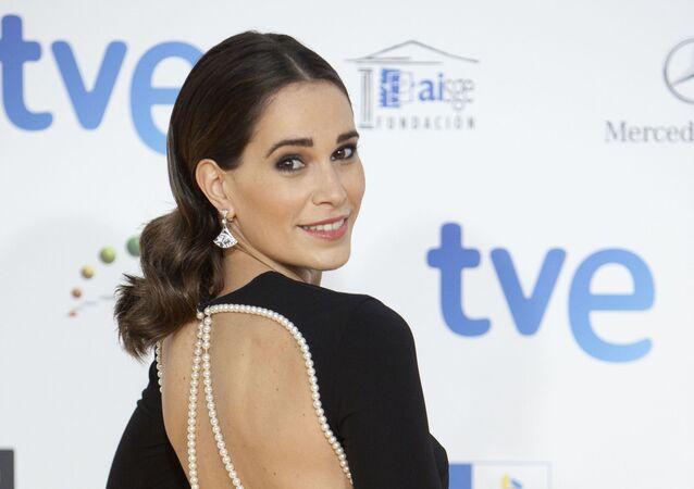 Spanish actess Celia Freijeiro
