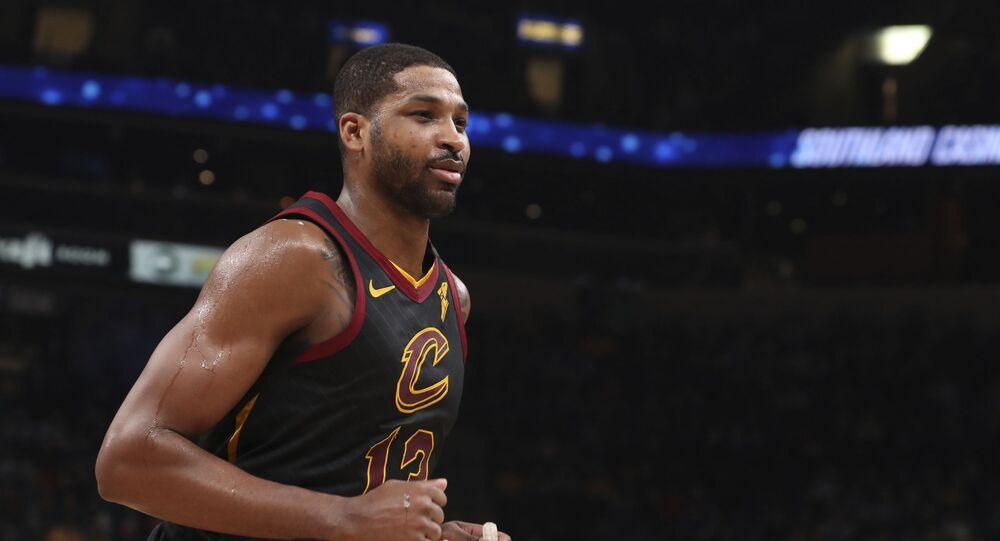 Cleveland Cavaliers forward Tristan Thompson