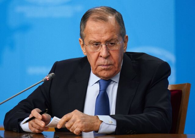 Russia's acting Foreing Minister Sergei Lavrov