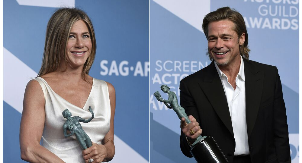 Jennifer Aniston calls ex Brad Pitt sexy in latest reunion