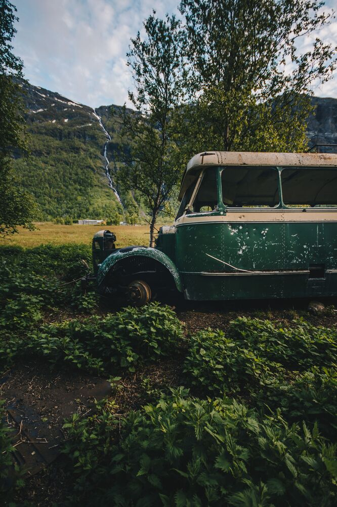 Abandoned Bus in Norway