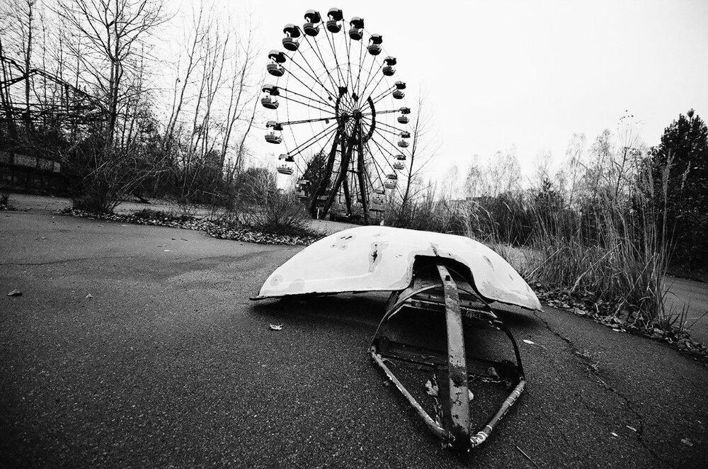 Amusement park in Pripyat, Ukraine.