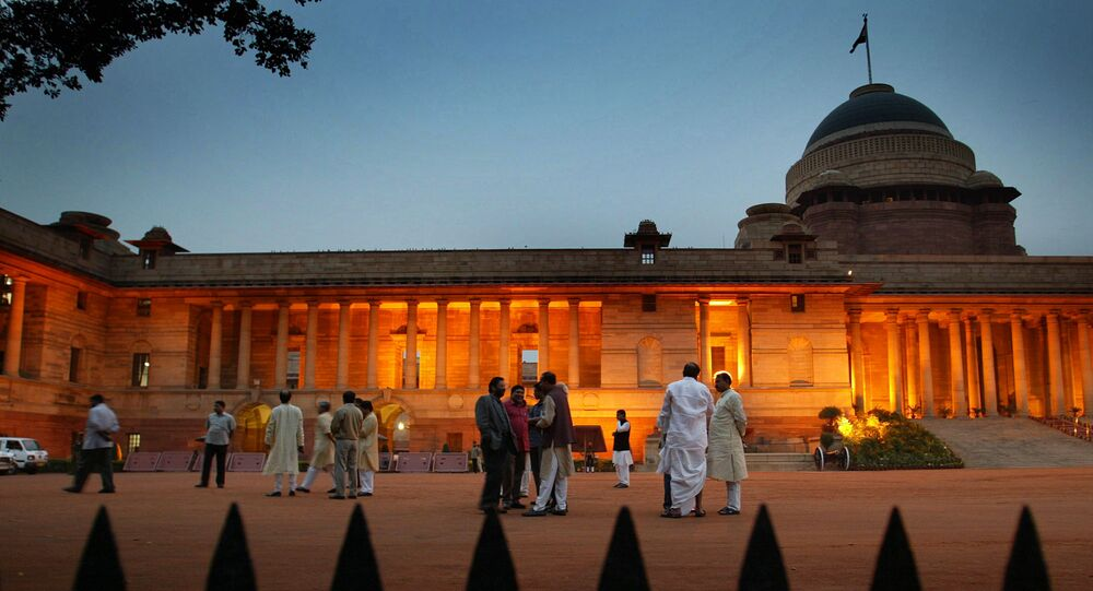 Presidential Palace . Legislative Assembly (MLA)  New Delhi, India (File)