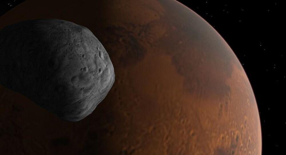 Dawn on Phobos  . . . and on Mars!
