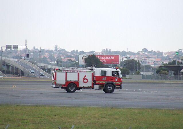 Sydney Airport fire truck