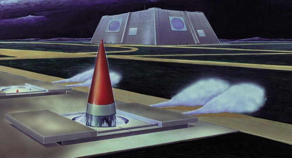 Don-2N radar system. Artist's rendering from the 80s DIA publication 'Soviet Military Power'