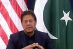 Pakistan's Prime Minister Imran Khan attends a bilateral meeting with U.S. President Donald Trump at the 50th World Economic Forum (WEF) annual meeting in Davos, Switzerland, January 21, 2020