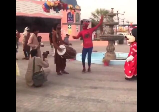 Spider-Man in Pakistan