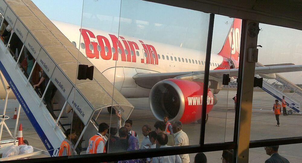 GoAir at Jaipur