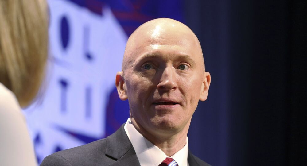 Carter Page at the Los Angeles Convention Centre in Los Angeles