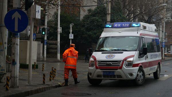 An ambulance in Wuhan, China - Sputnik International