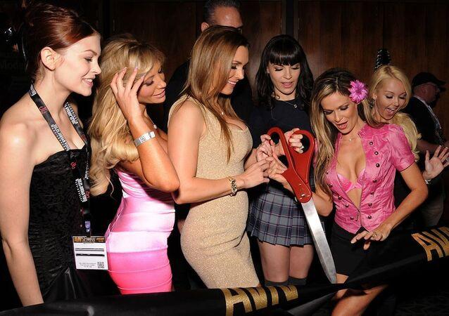 AVN Expo Ribbon Cutting (File)