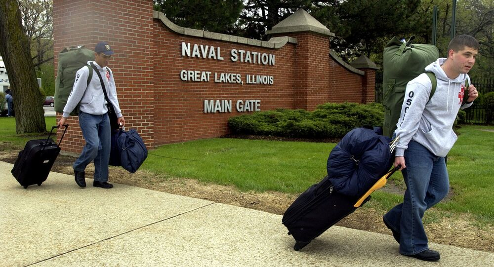 Main Gate of Great Lakes Naval Station