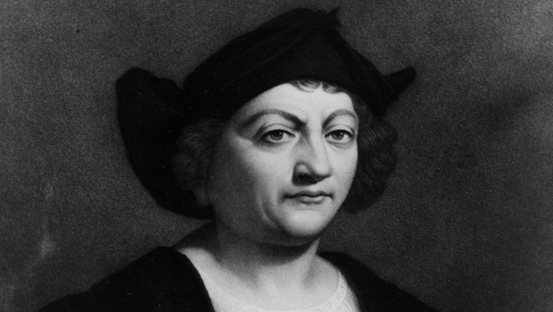 Italian-Spanish explorer Christopher Columbus is shown in this work  by Italian painter Sebastiano Del Piombo.  (AP Photo) - Sputnik International, 1920, 10.02.2021