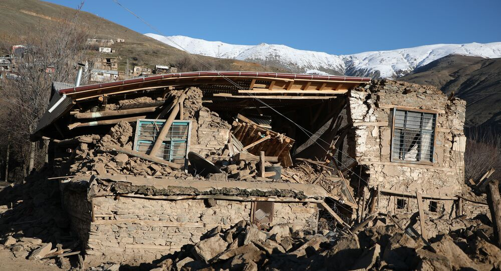 Turkish Village Totally Destroyed After Quake in Elazig