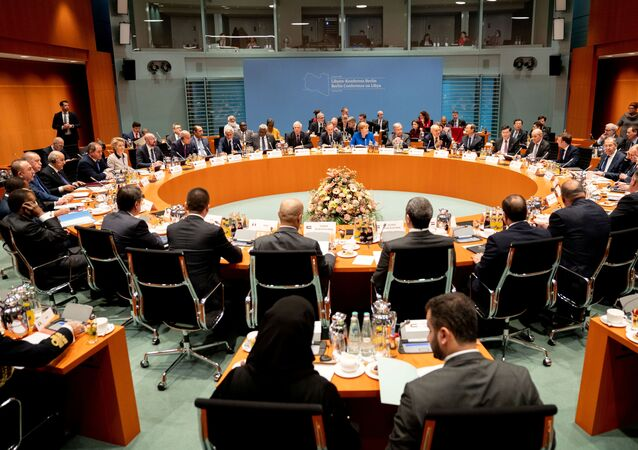 The Libya summit in Berlin, Germany