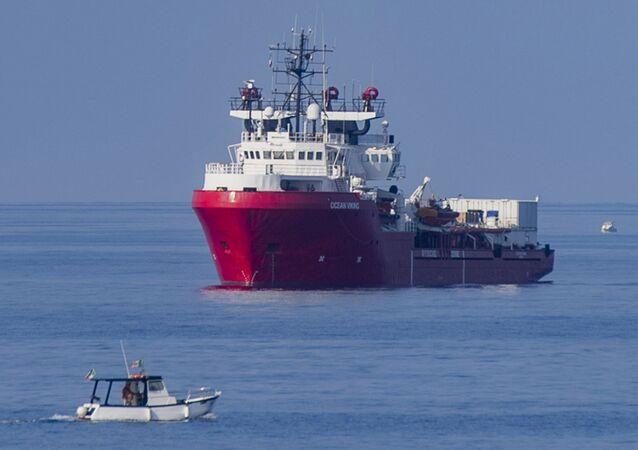Migrant Rescue Ship Ocean Viking