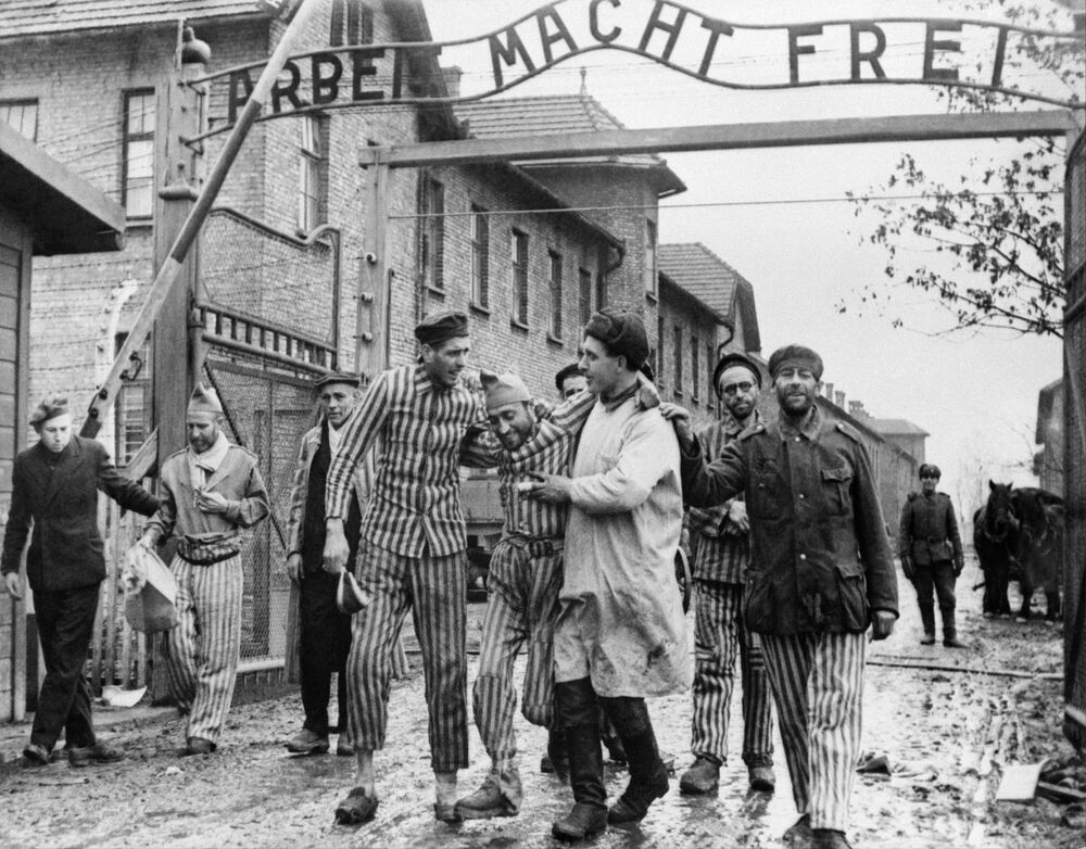 Rescued From Hell: 75th Anniversary of Auschwitz Liberation by Soviet Army