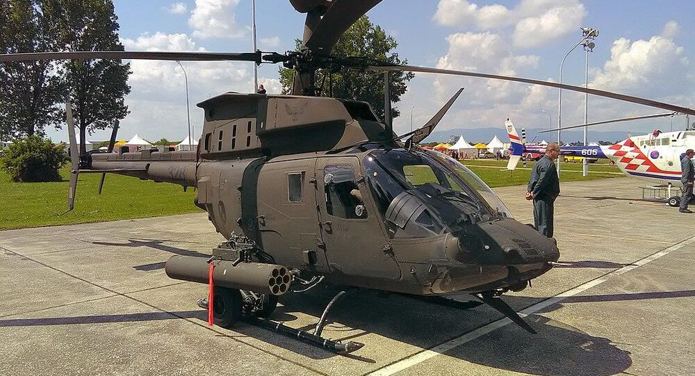 Croatian Bell OH-58D Kiowa Warrior