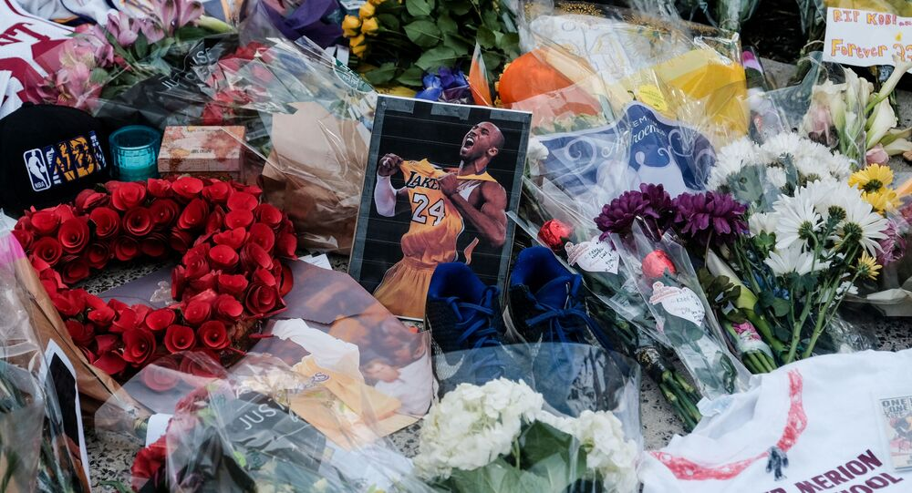 People Pay Their Respects After Death of NBA Legend Kobe Bryant