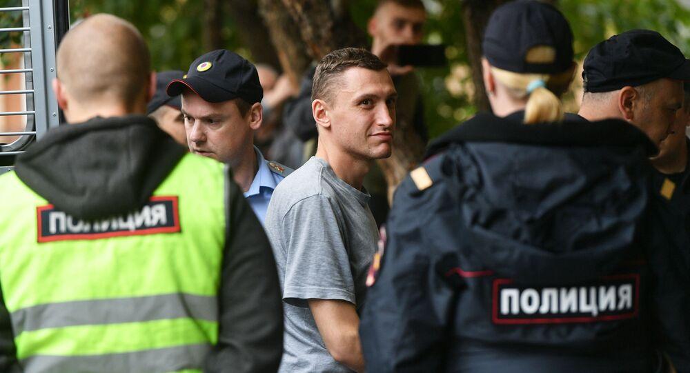 Activist Konstantin Kotov