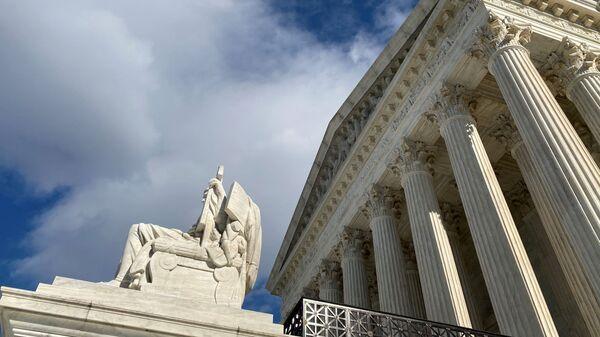 The U.S. Supreme Court building is seen in Washington, U.S., January 21, 2020.  - Sputnik International